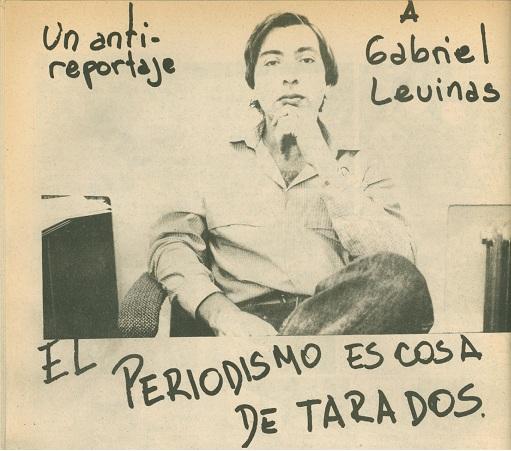 Tomado de http://www.plazademayo.com/2012/10/reportaje-a-gabriel-levinas/