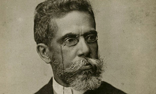Fotografía tomada de http://www.blogdacompanhia.com.br/2013/04/machado-de-assis-o-cronista/