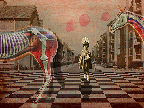 Collage de Mariana Fossatti