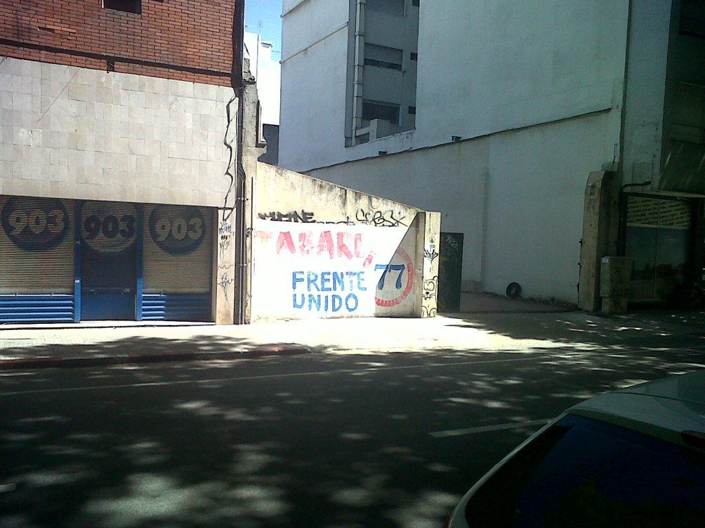 muro de junio tapado