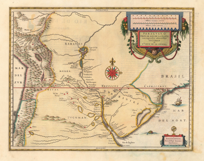 Mapa tomado de http://erni2erni.wordpress.com/2009/10/08/cartografia-novus-orbis/