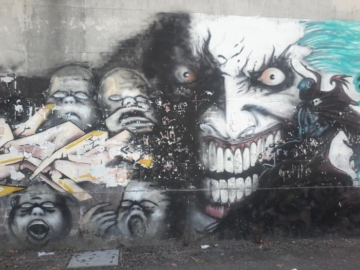 Muro de la calle Tomás Basañez V