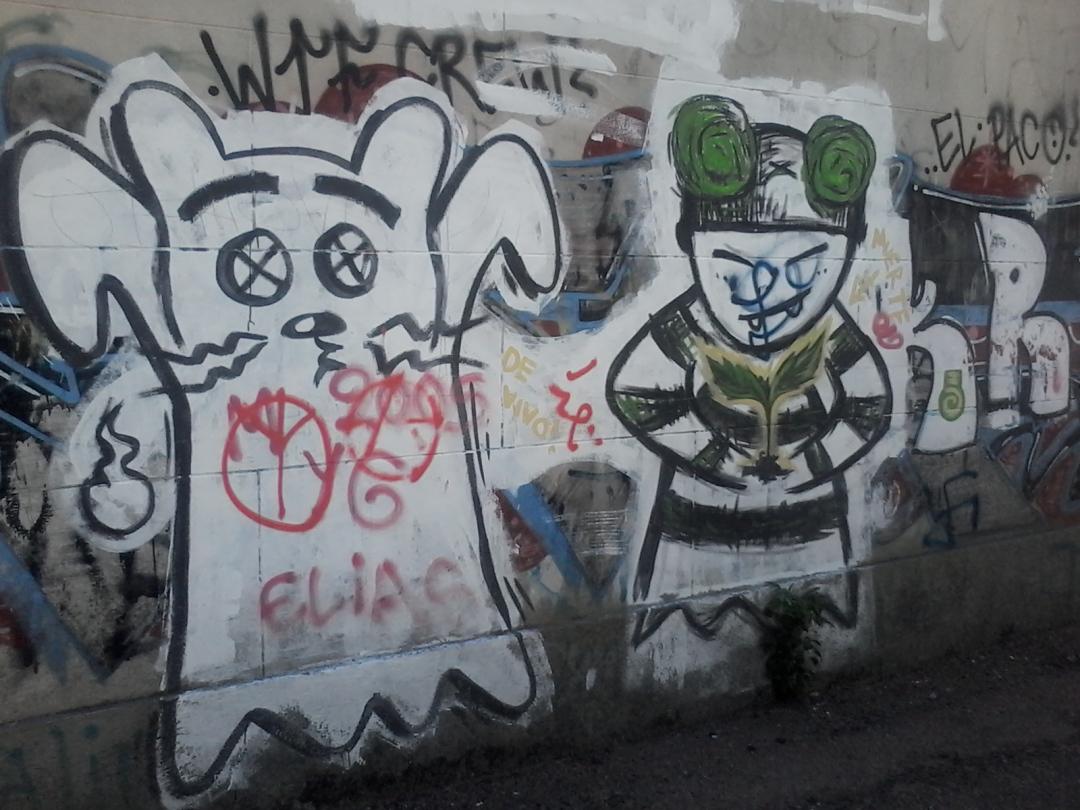 Muro de la calle Tomás Basañez VI