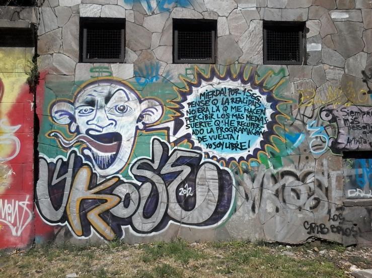 Muro de la calle Bvr. Batlle y Ordóñez (Propios) I