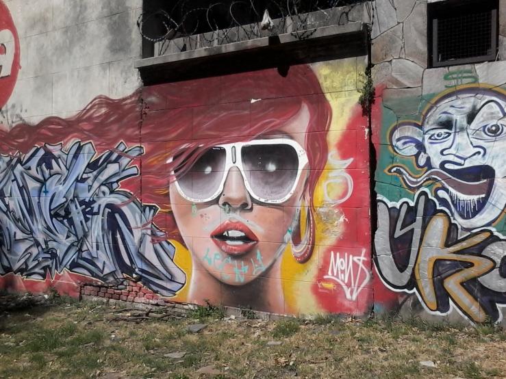 Muro de la calle Bvr. Batlle y Ordóñez (Propios) II