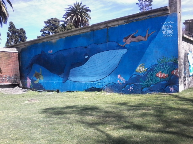 Muro de la Av. Ing. Juana Pereyra