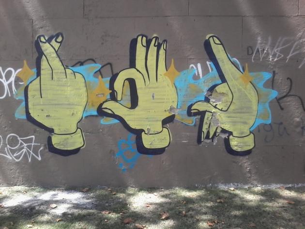 Muro de la Avda. Rivera