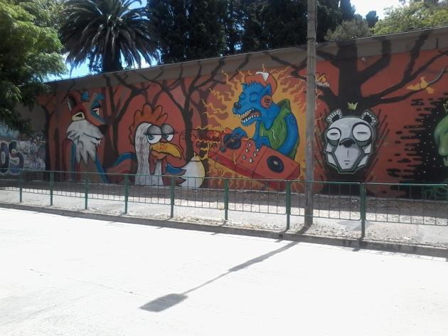 Muro de la calle Tomás Basañez I