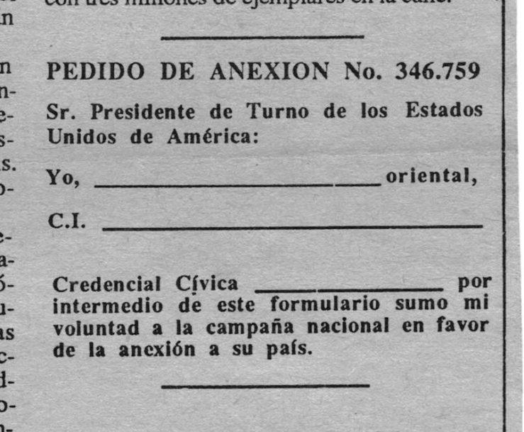 formulario de anexión