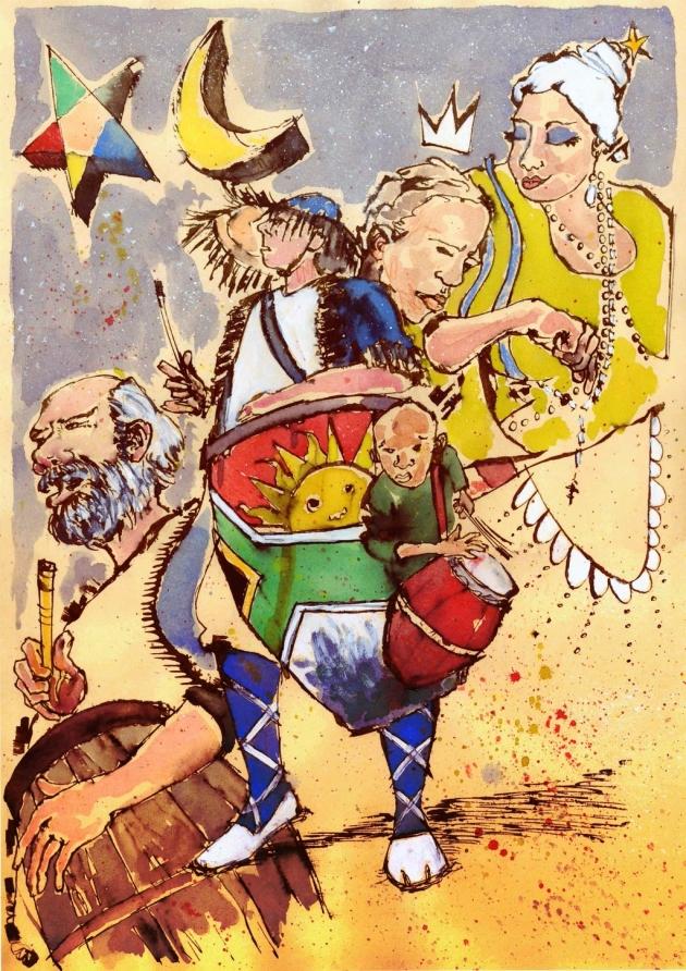 Ilustración de Daniel Mosquera. Blog: http://casianimal.blogspot.com.uy/